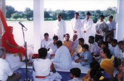 addressing and blessings to Sai Devotees
